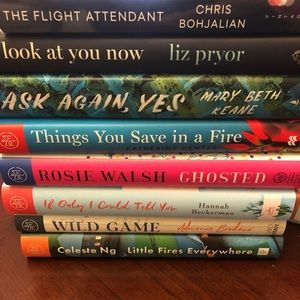 Lot of 8 current books